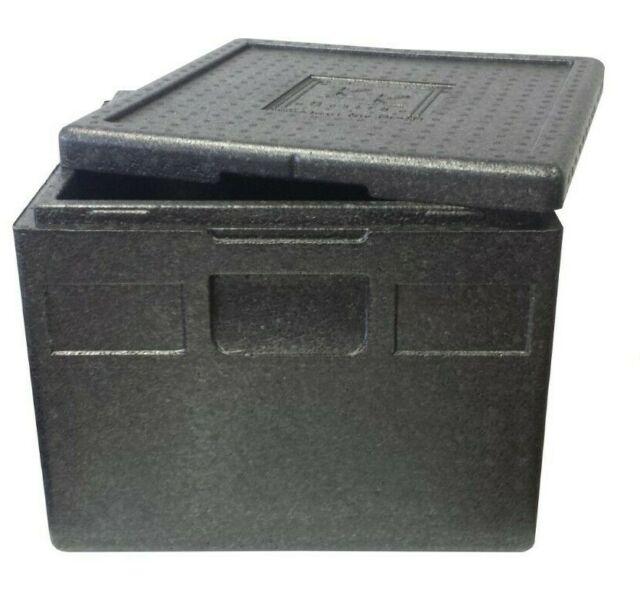 Thermobox 41 x 41 x 24 cm 21 Liter Kühlbox Transportbox Pizzabox EPP