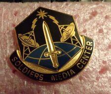 CREST DI, U.S ARMY SOLDIER MEDIA CENTER S-38 HM