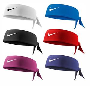 1, 2 or 3 Nike Dri-Fit Head Tie Men's or Women's Band Headband Headtie Tennis...
