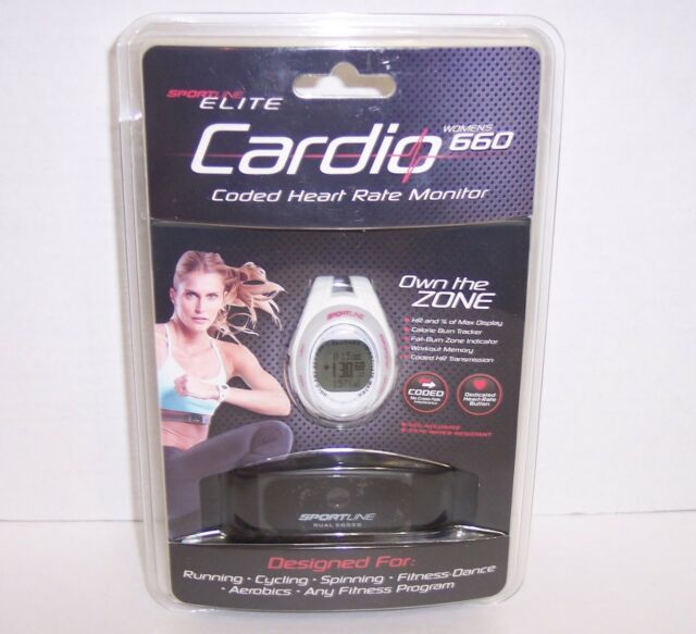 Using the monitor | sportline cardio 660 women's heart rate.