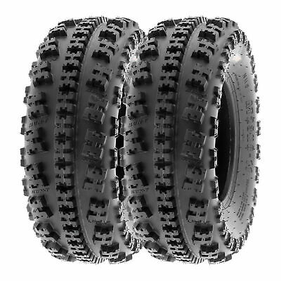 Bundle SunF 22x7-10 20x10-9  Sport ATV Tires 6 PR Tubeless  A021