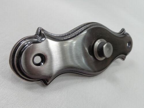 Türklingel aus verzinkten Messing Klingelplatte Klingelknopf