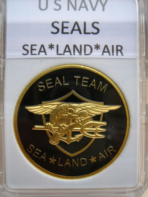 US NAVY SEALS Challenge Coin