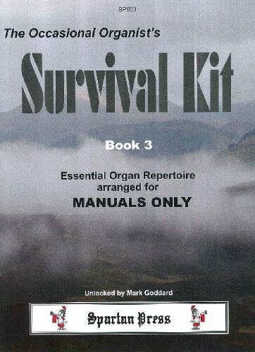 ORGAN SOLO Occasional Organist/'s Survival Kit Book 3 4-7 Grade SP603