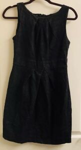 Maurices-Women-Black-Denim-Dress-Size-3-4