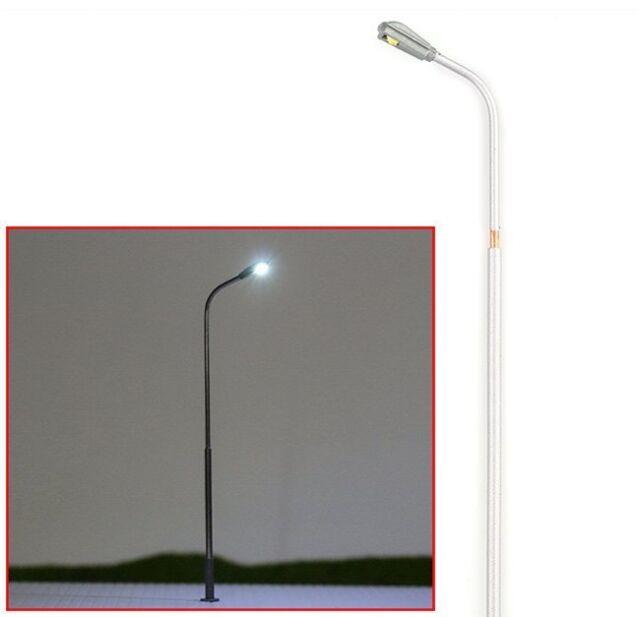 20 Model Train Railway Architecture Scenery Street LED Lights Lamppost HO 1:100