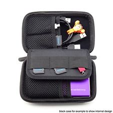 NEW Black Anti Shock Portable EVA Hard Drive Carrying Case Bag Pouch For Seagate