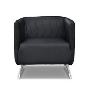 Détails sur Design de Luxe Fauteuil Chaise Canapé 1 Places Téléviseur Salon  Cuir Tissu