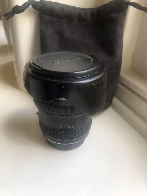 Canon EF 20-35mm f/2.8 L AF Full Frame Zoom Lens  EOS Hood Japan . Please Read