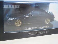 Brabus 850 S63 Coupé 2015 schwarz - Minichamps 437034220 - Nr. 007 of 350 - 1:43