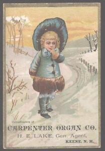 Trade-Card-KEENE-New-Hampshire-NH-Carpenter-Organ-Co-Promo-Ad-1880-039-s