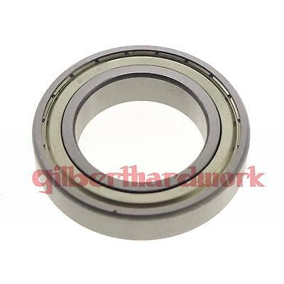 (1) 40 x 62 x 12mm 6908zz Shielded Deep Groove Ball Thin-Section Radial Bearing