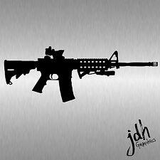 ASSAULT RIFLE sticker AR machine gun GRENADE Vinyl Giggle switch Decal TACTICAL