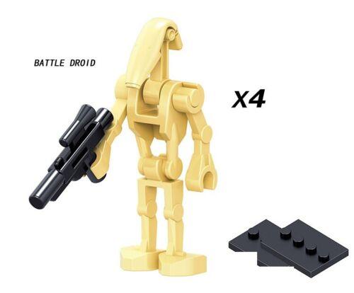 Super Battle Droid Star Wars Robots Building Blocks Space War Toys For Children