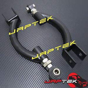 BLACK-Adjustable-Rear-Upper-Camber-Arms-for-Nissan-R33-R34-Skyline-GTST-GTT-GTR