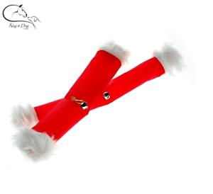 Détails Sur Showquest Noël Nouveauté Rein Manches Rouge Blanc Avec Bordure En Fourrure Gratuit P P Afficher Le Titre D Origine