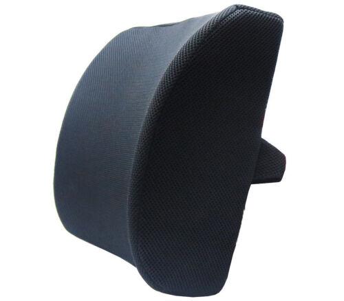 Silla de oficina de almohada de apoyo lumbar coche dolor de espalda resto Cojín de espuma de memoria OL4