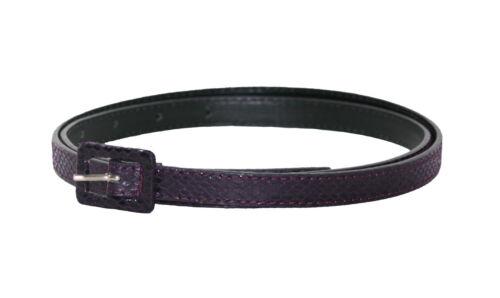 S,M,L,XL Ladies//Womens PURPLE 14mm Croc//Snake Print Belt