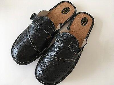 Regalo De Navidad presente Quan Para Hombre Cuero Zapatillas Talla 7 8 9 10 11 12 13