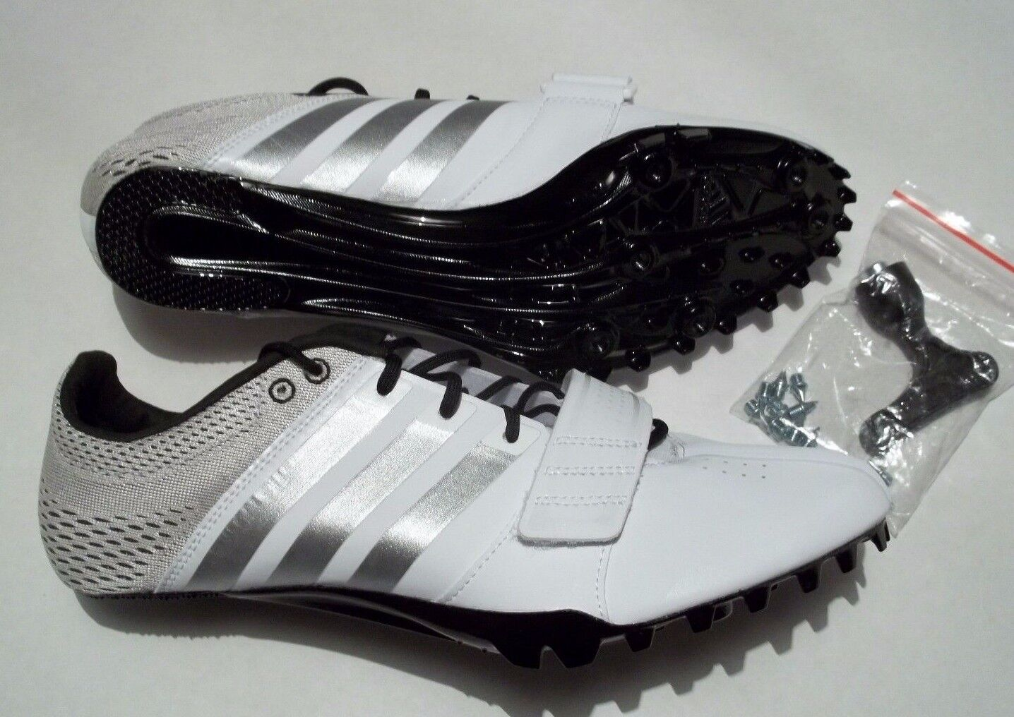 NEW Adidas Prime Accelerator Size 11.5 Track Shoes With Spikes & Tool  S80336