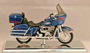 Enthousiaste +1980 Flt Tour Glide + + Harley-davidson + + Maisto ** Neuf ** 1:18 ** état Modèle +-n++maisto**neu**1:18**standmodell+ Mode Attrayante