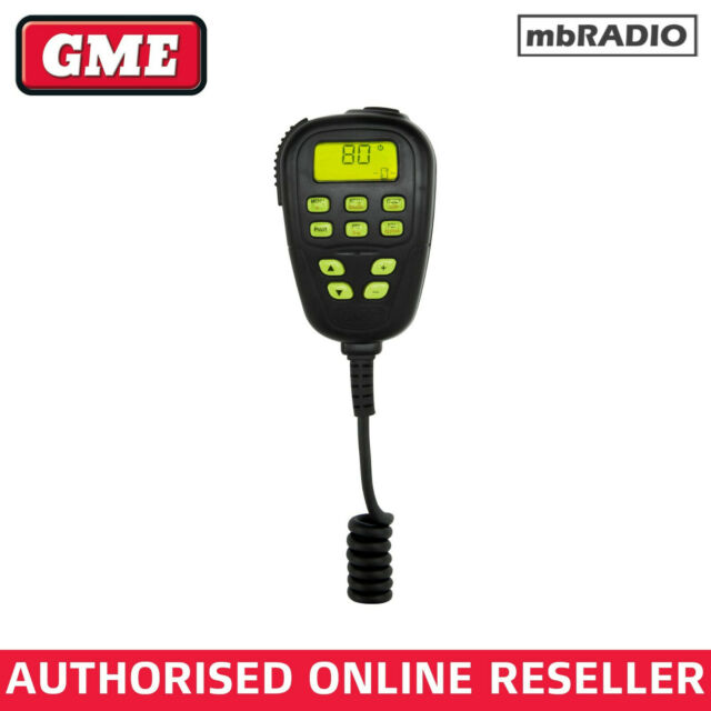 GME MC520B MICROPHONE TO SUIT TX3340 TX3420 TX3440 UHF
