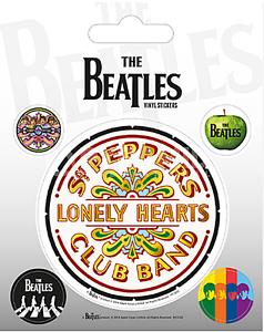 decals py Pack of 5 The Beatles Sgt Pepper peel-off vinyl stickers