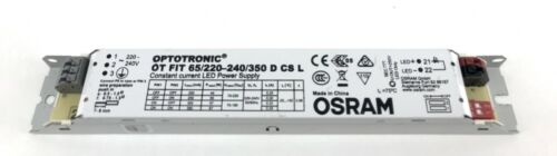 OSRAM OPTOTRONIC CONSTANT CURRENT LED DRIVER POWER SUPPLY UNIT 240V OT FIT