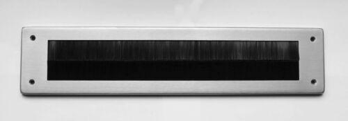 340 x 80 MM-Letter Flap-Letter Filling Stainless Steel Inner Cap-with Brush Insert