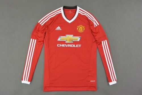 #adidas Manchester United Home Shirt 201516 Long Sleeve SIZE L adults