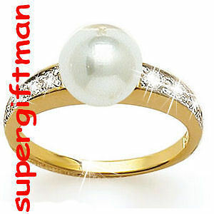 X016-BAGUE-OR-DA-ring-goud-PERLE-DIAMANTS-CZ-T60