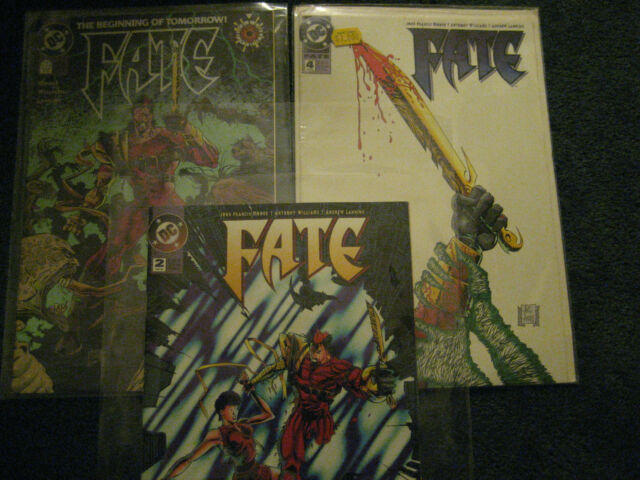 Comic Book: DC Comics - Fate #0, Fate #2 & Fate #4 COLLECTORS 1994-1995 VRY RARE