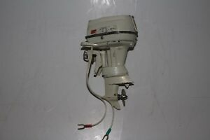 K-amp-O-Outboard-Motor-1960-Johnson-Sea-Horse-75-Horsepower-Original