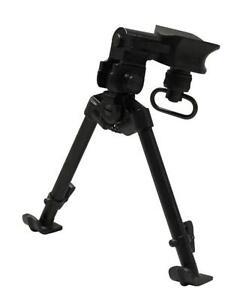 9-12-034-Steel-Tactical-Bipod-Ski-Feet-Pan-Tilt-Rifle-Hunting-Mount-Spring-Gun-Hunt