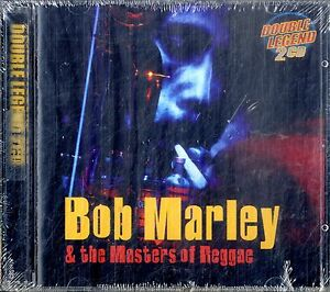 BOB-MARLEY-amp-THE-MASTERS-OF-REGGAE-Double-Legend-2CD-NEW-sigillato