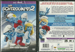 Dvd Les Schtroumpfs 2 Dessin Anime Neuf Emballe New