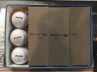 Rife E-motion Golf Balls - White - (1) 12-ball Packs