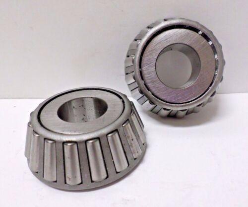 "Lot of 2 NTN 4T-HM88630 Tapered Roller Bearing Cones 1.02/"" Depth 1/"" Bore"
