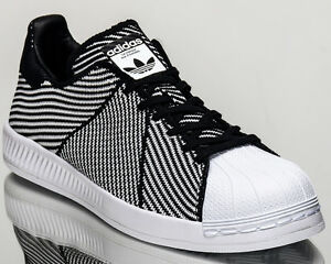 324fb5123bb6 Image is loading adidas-Originals-Superstar-Bounce-Primeknit -shoes-white-Last-