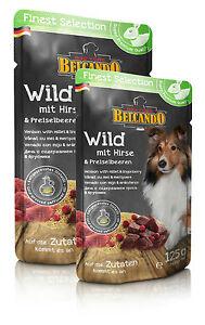 BELCANDO-Wild-mit-Hirse-amp-Preiselbeeren-6-x-300-g-Pouches-Finest-Selection