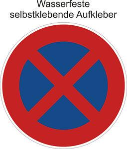 Halteverbot-s-Aufkleber-Parken-Verboten-Halten-Verboten-Sticker-ab-5cm