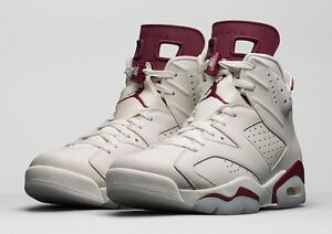air jordan 6 retro maroon ebay official site