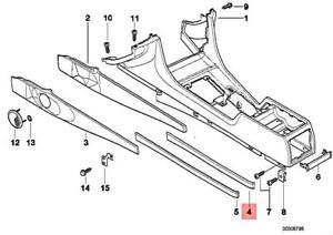 Genuine BMW E38 725tds 728i 728iL 730i Right Center Armrest Tray 51168161596