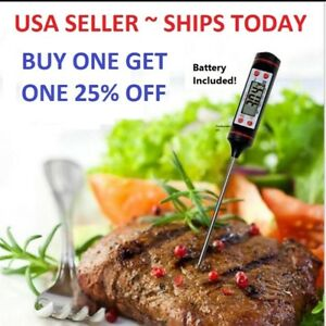 Instant-Read-Digital-Grill-Kitchen-Meat-Thermometer-Probe-BBQ-Oven-Food-Cooking