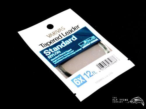 Varivas Standard Tapered Leader7.5ft 9ft /& 12ftTrout Leader