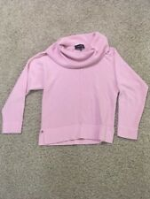 249c51b75e7de item 6 Jones Wear petites womens PS light pink button cowl neck long sleeve  sweater -Jones Wear petites womens PS light pink button cowl neck long  sleeve ...