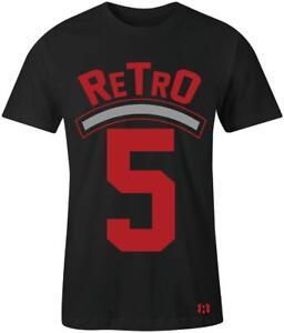 034-Retro-5-034-T-Shirt-to-Match-Air-Retro-034-Satin-Bred-034-5-039-s