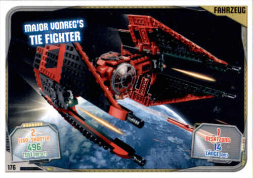 176-Major vonreg/'s Tie Fighter-Lego Star Wars Série 2