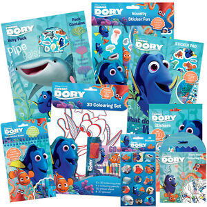 DISNEY FINDING DORY - Colouring/Activity/Sticker/Busy Packs (Kids ...