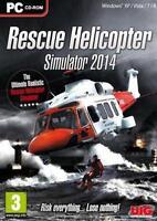 Rescue Helicopter Simulator 2014 | Pc | Dvd Version | Neu & Ovp | Inkl. Key